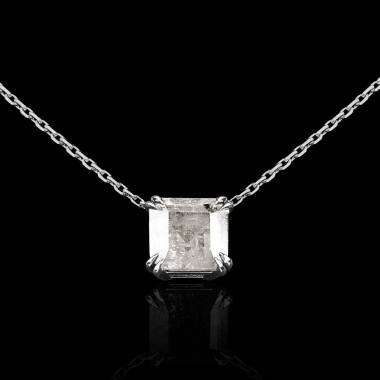 Pendentif diamant Griffes d'amour