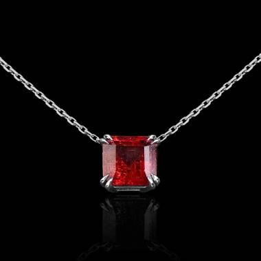 Pendentif rubis Griffes d'amour
