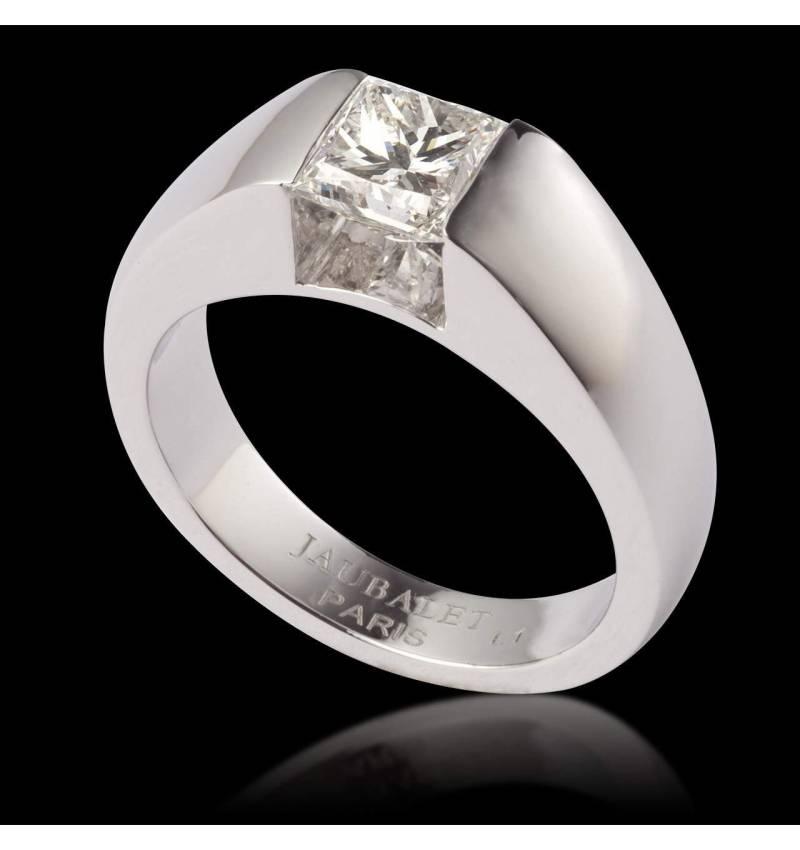 Bague diamant or Pyramide