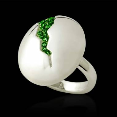 Bague Emeraude Quake