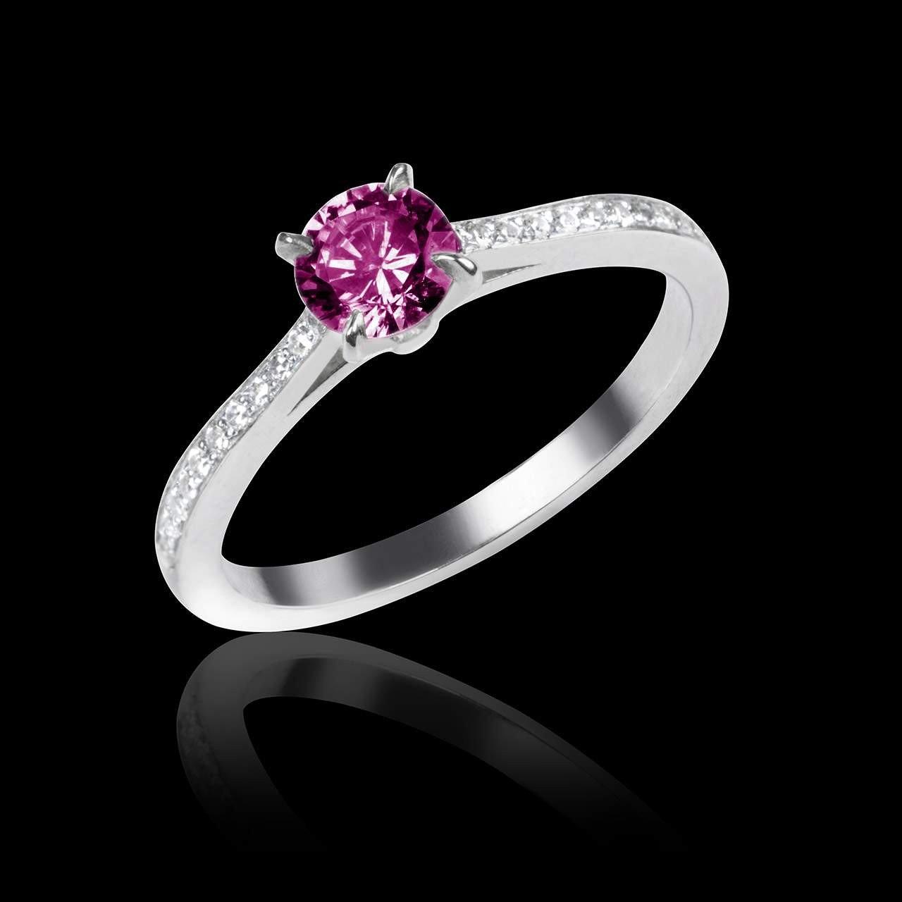 Bien-aimé Bague de fiançailles diamant Elodie - Maison Jaubalet BS93