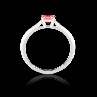 Solitaire rubis or blanc My Love