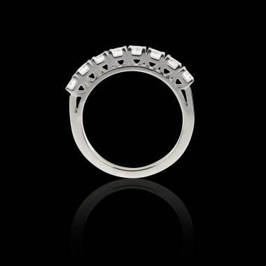 Alliance pavage diamant 0,7 carat platine Ceres