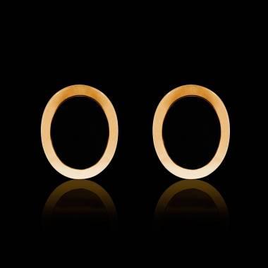 Boutons de manchettes chevalière onyx or jaune vermeil 13,4g Ovalis
