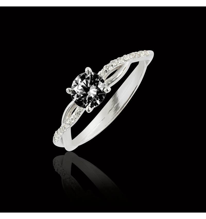 bague diamant noir paris