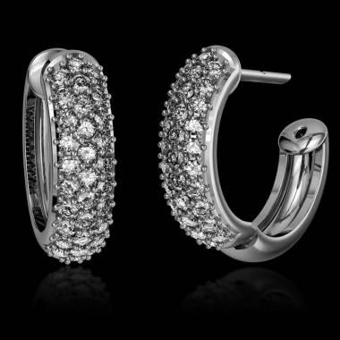 Boucles d'oreilles diamant Mangrove