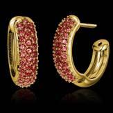Boucles d'oreilles rubis Mangrove