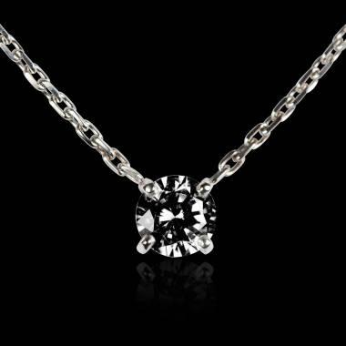 Noir Diamant Maison Et Collier Pendentif Jaubalet uwPiTOlkZX