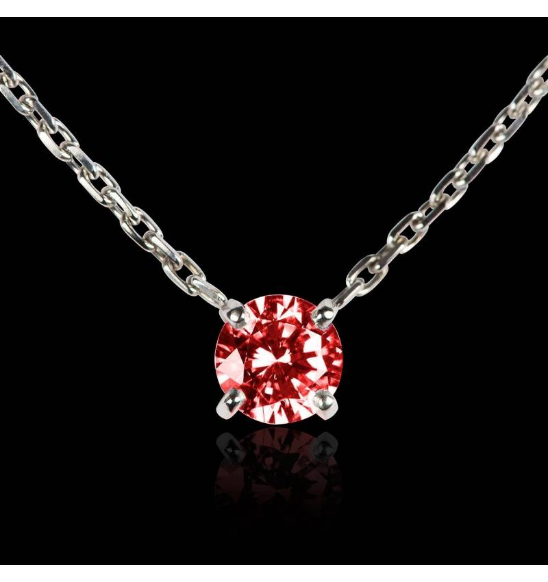 Pendentif rubis or blanc Around Me