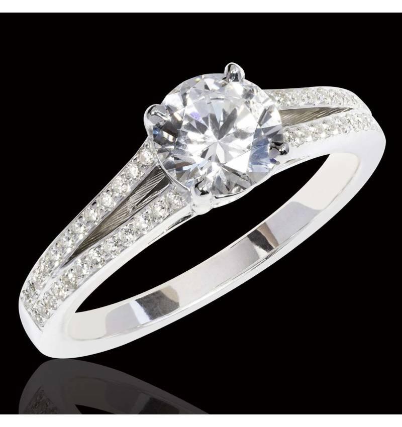 bague diamant fiancailles