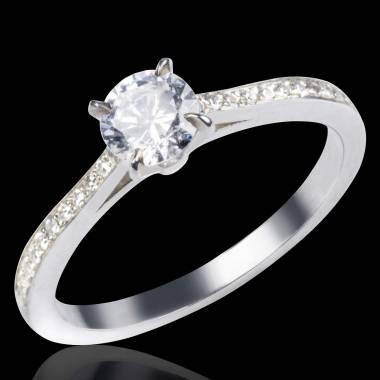 Bague diamant or Elodie