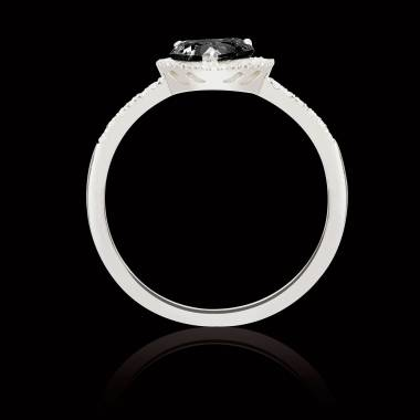 Bague diamant noir Anya