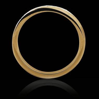 Alliance de mariage or jaune Charlène
