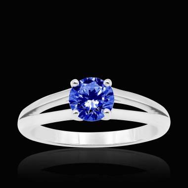 Bague saphir bleu Lina