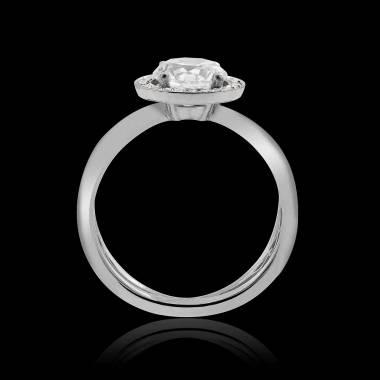 Bague de fiançailles diamant Barbara solo