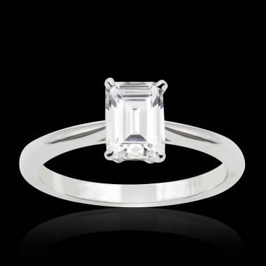 Bague de fiançailles diamant Jade solo