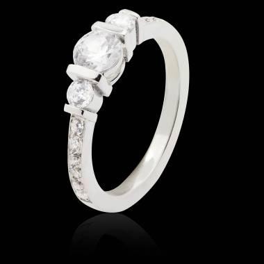 Bague de fiançailles Diamant Mila