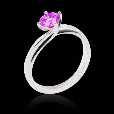 Bague saphir rose Alicia