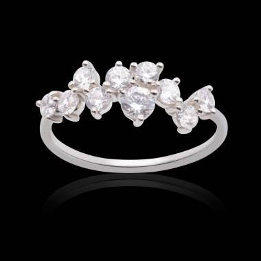Bague de fiançailles diamant Lilla