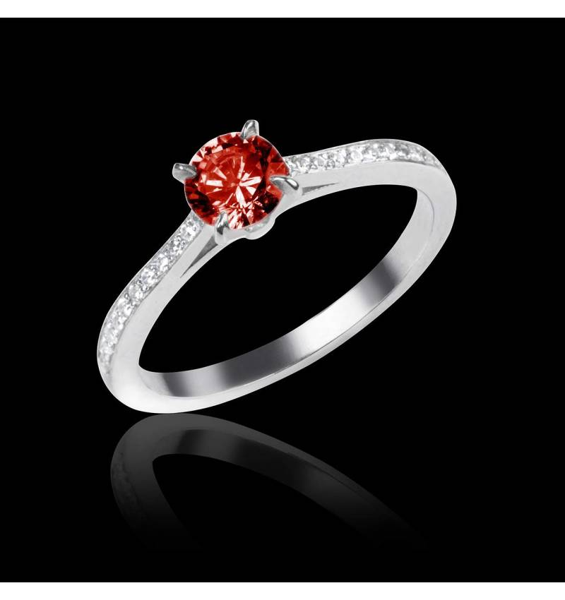 Bague Spinelle rouge Elodie