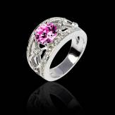 Bague Tourmaline rose Regina Suprema