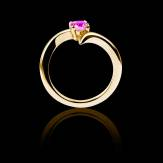 Bague Tourmaline rose Serpentine