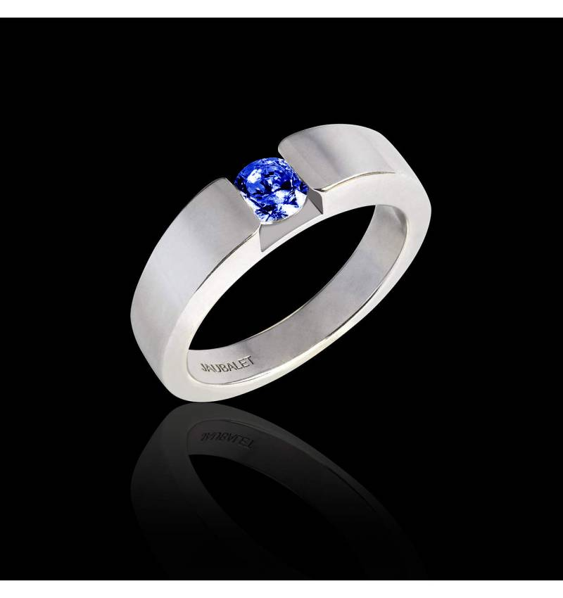 Bague Tanzanite Pyramide