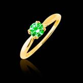 Bague Tsavorite Laureen solo