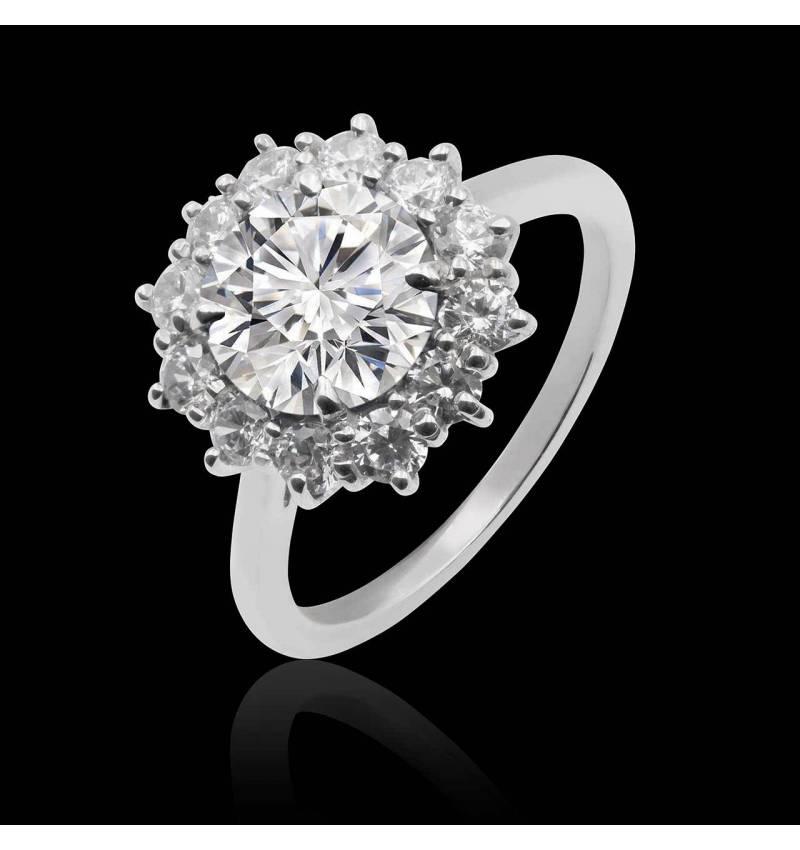 Bague diamant Florentine
