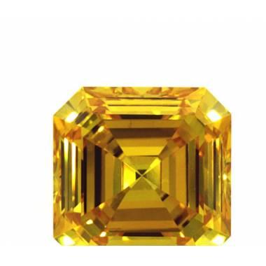 Diamant de synthèse jaune...
