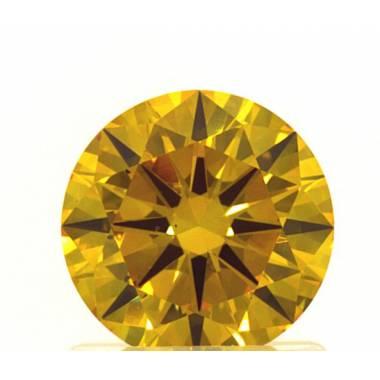 Diamant de synthèse Orange...
