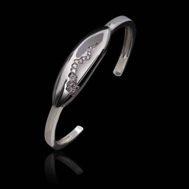 Bracelet diamant- or blanc-Quake