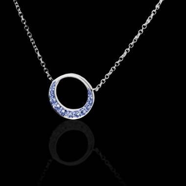 Pendentif diamant or Clair de Lune