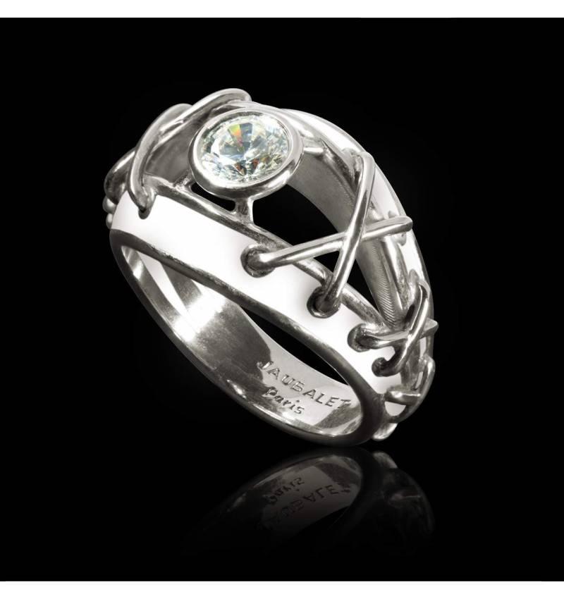 Bague diamant Délassée