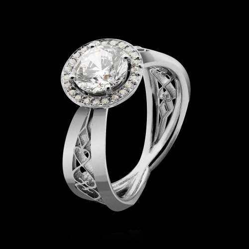 bague solitaire signification