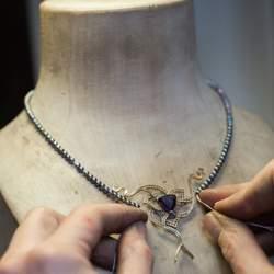Fabrication collier sur mesure 1- Jaubalet