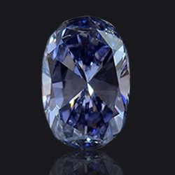 Diamant Fancy-grey-blue - Jaubalet