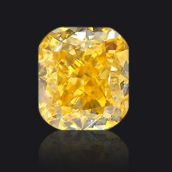 Diamant Fancy-intense-yellow-orange - Jaubalet