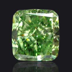 Diamant Fancy-vivid-green - Jaubalet