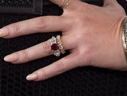 Jessica Simpson's Ruby Engagement Ring