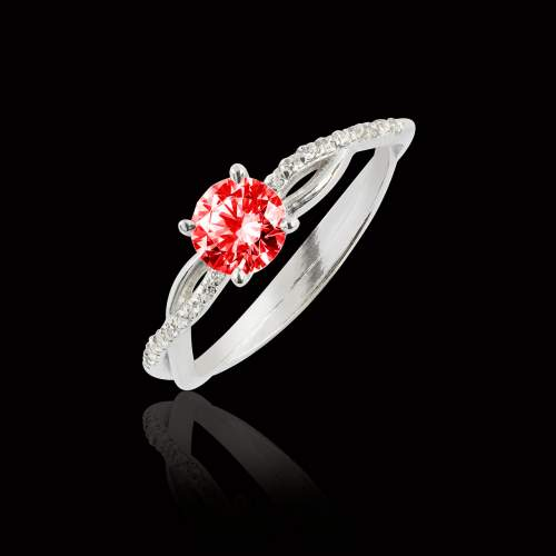 Ruby Engagement Ring Noemie