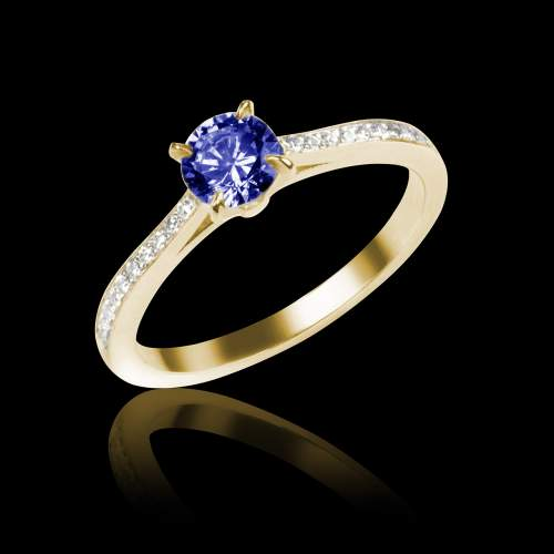 Sapphire Engagement Ring Elodie
