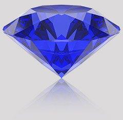 Achat saphir bleu en ligne