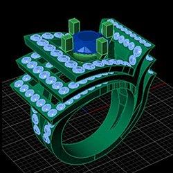 Bague sur mesure 3D - Jaubalet